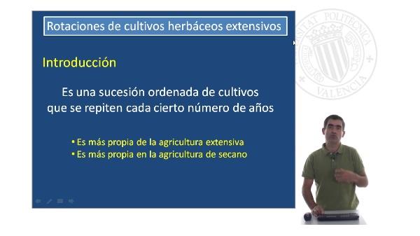 Rotaciones de cultivos herbáceos extensivos