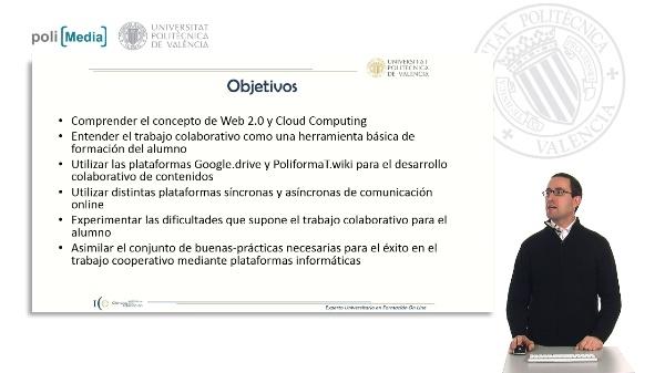 Descripción asignatura Plataformas de trabajo colaborativo (EUXFOL)