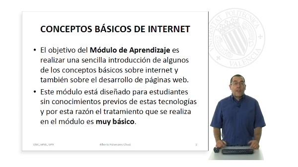 Presentacion del Módulo de Aprendizaje: Conceptos basicos de Internet