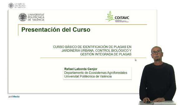 Curso básico de identificación de plagas en jardinería urbana, control biológico y gestión integrada de plagas