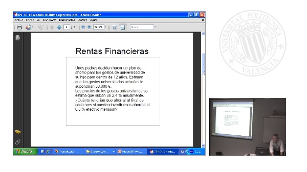 Productos y Mercados Financieros 1 (sesión práctica)