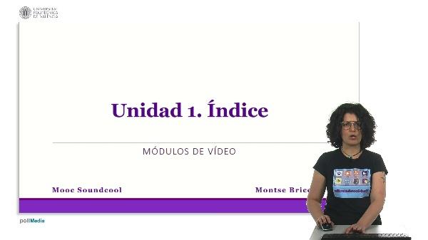 Unidad 1. Índice