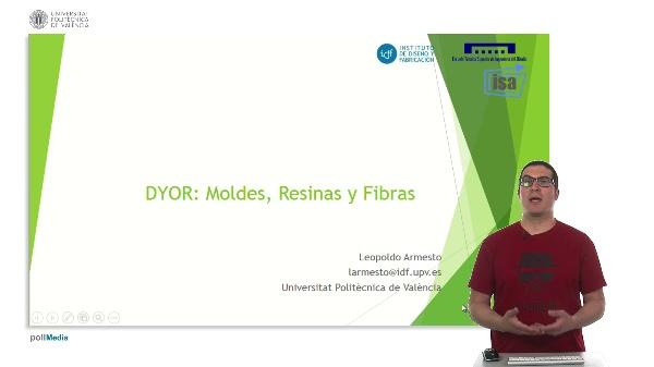 DYOR: Moldes, resinas y fibras