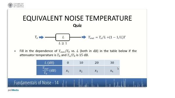 Caracteristicas fundamentales del ruido IV