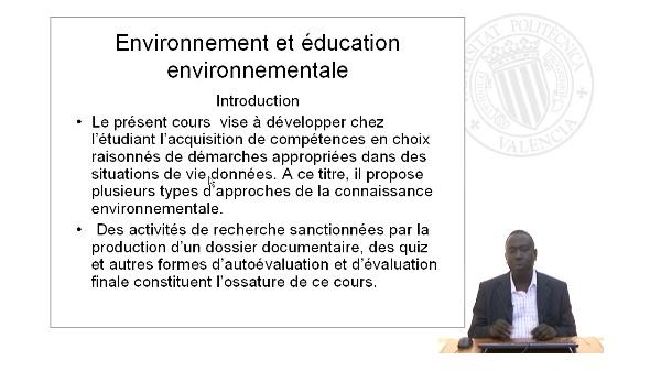 Environnement et éducation Environnementale