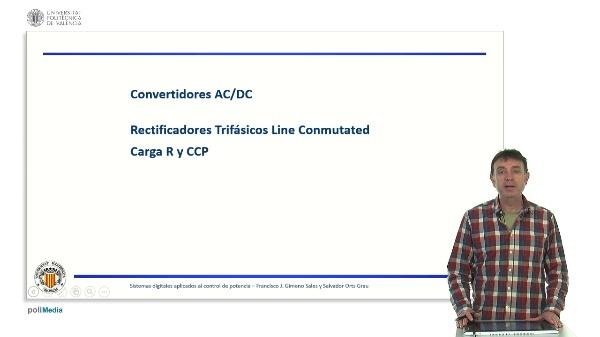 Rectificadores trifásicos con carga R y CCP