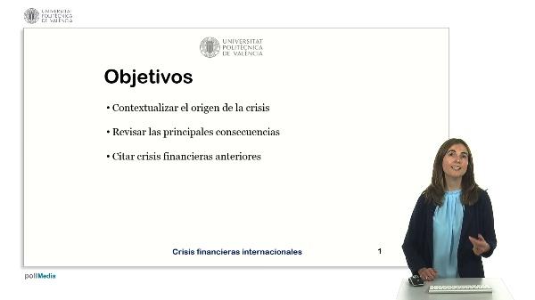 Crisis financieras internacionales.