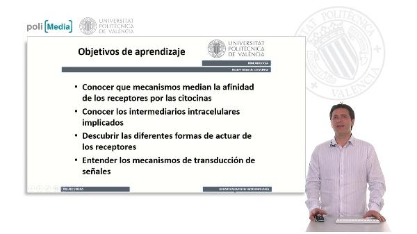Receptores de Citocinas. Transducción de Señales