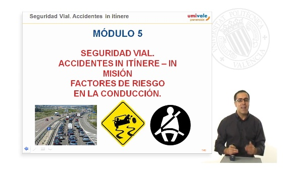 Seguridad Vial. Accidentes in-itínere / in-misión.