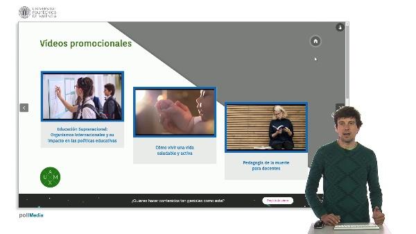 SPOC Gestión de MOOC. Universidad Autónoma de Madrid. Ejemplos de Marketing para cursos MOOCs.