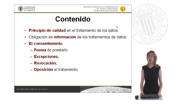 Tema 3. Los principios que rigen la protección de datos
