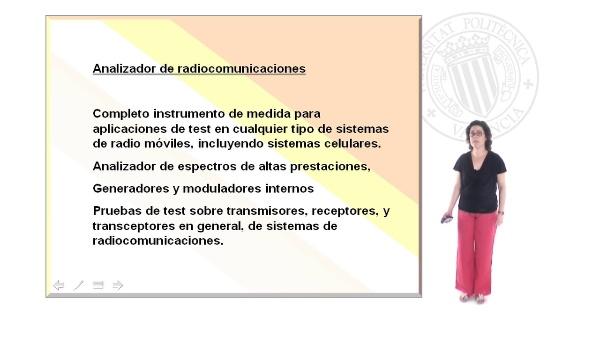 Modos de funcionamiento del analizador de radiocomunicaciones