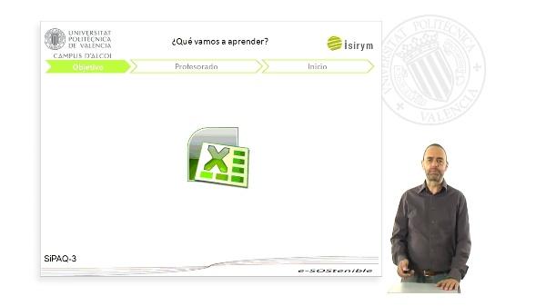 Presentación. SiPAQ-3: Simulación de Procesos Ambientales y Químicos con Excel¿
