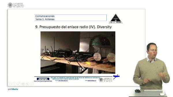 Master RPAS. Asignatura comunicaciones. Antenas, diversity
