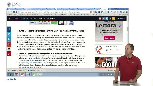 7 trucos para crear la unidad de aprendizaje perfecta para e-learning