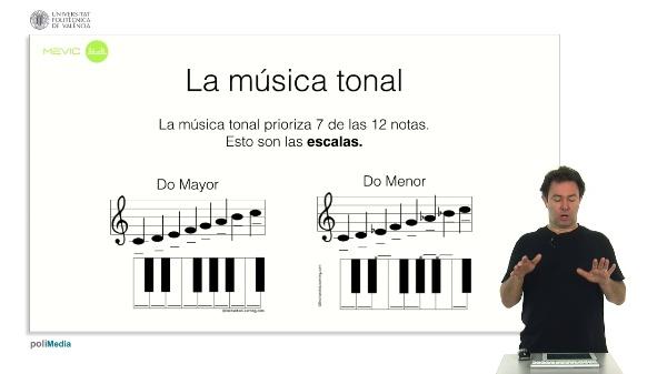 La musica tonal y atonal (II)