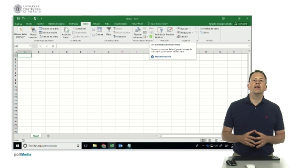 Power Pivot. El modelo de datos de Excel