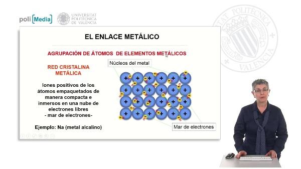 El enlace metálico