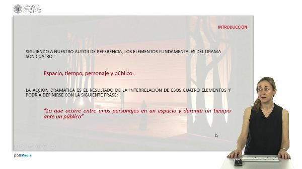Aproximación al texto teatral según las tipologías de J.L. García Barrientos