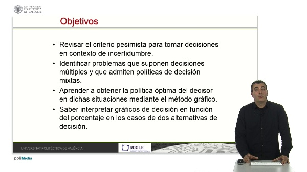 Decisiones mixtas en contexto de incertidumbre