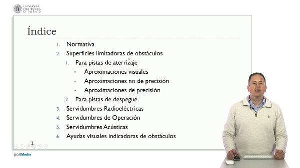 MOOC Diseño aeropuertos según OACI. Introducción módulo 3. Servidumbres de un aeropuerto