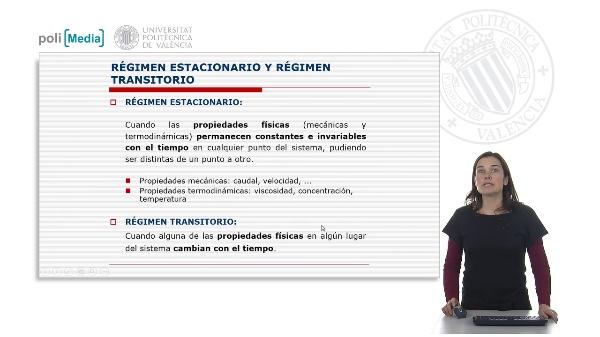 Estacionario y Régimen Transitorio