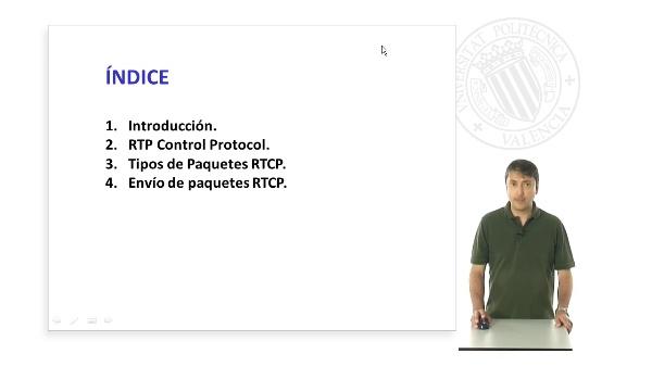 El protocolo RTP Control Protocol RTCP