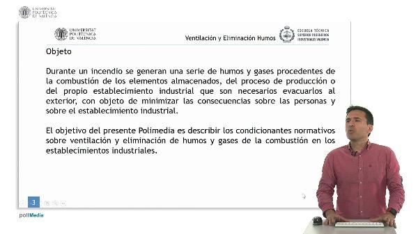 Seguridad contra incendios en establecimientos industriales. Ventilación y eliminación de humos.