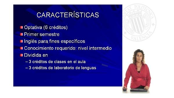 Introducción Asignatura Inglés I