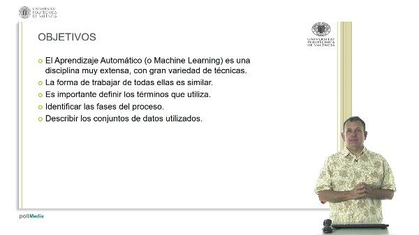 Aprendizaje Automático: Elementos clave