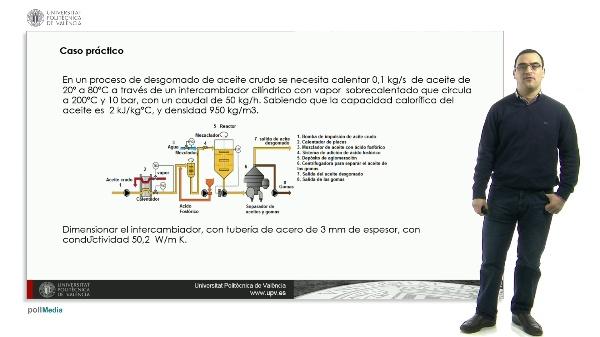 8. Caso práctico de intercambiadores de calor de paredes cilíndricas