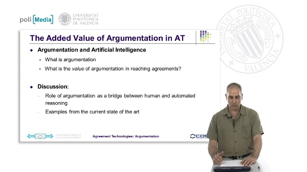 Agreement Technologies. Argumentation