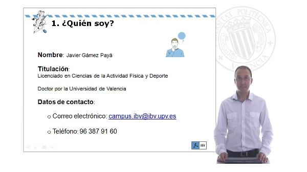 Profesor Javier Gamez