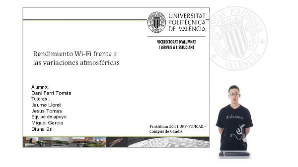 Rendimiento Wi-Fi frente a las variaciones atmosféricas.