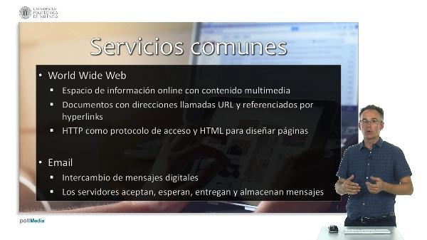 Internet y navegadores web. Servicios en Internet