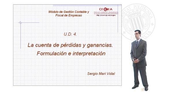 La Cuenta de Pérdidas y Ganancias.Formulación e Interpretación.