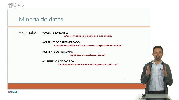 Ejemplos de minería de datos sin arreglar