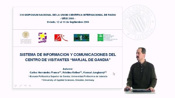 Sistema de información y comunicaciones del centro de visitantes Marjal de Gandía