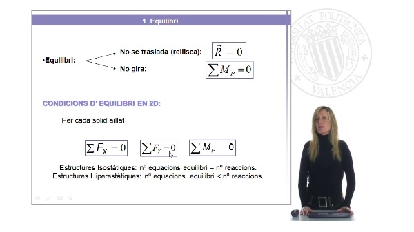 Càlcul de reaccions en suports