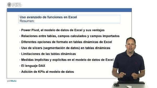 Excel. Powerpivot. Modelo de datos. Resumen