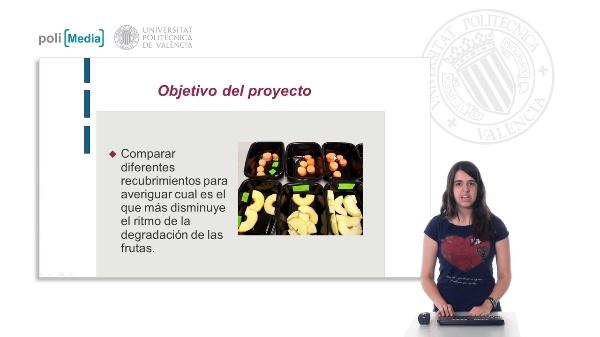 Recubrimientos biodegradables para la mejora de la conservación de frutas