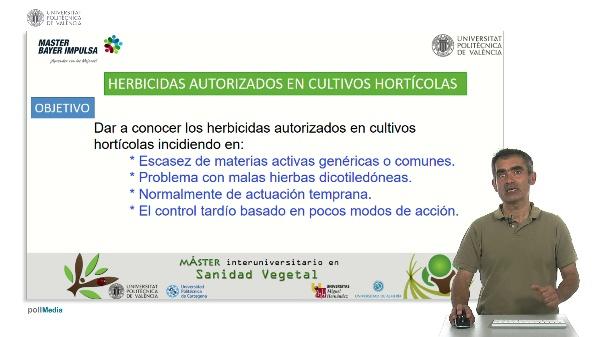 Herbicidas autorizados en cultivos hortículas