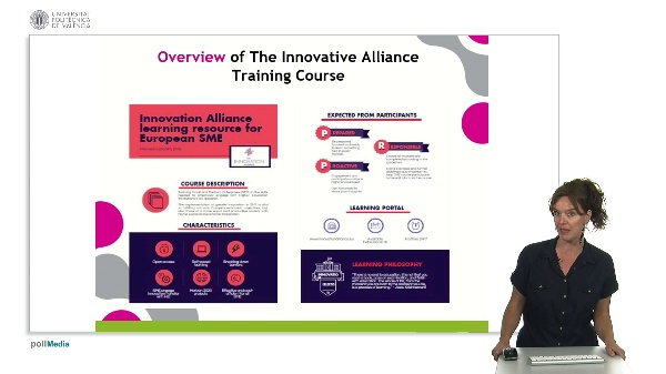 THE INNOVATION ALLIANCE. The Training course.