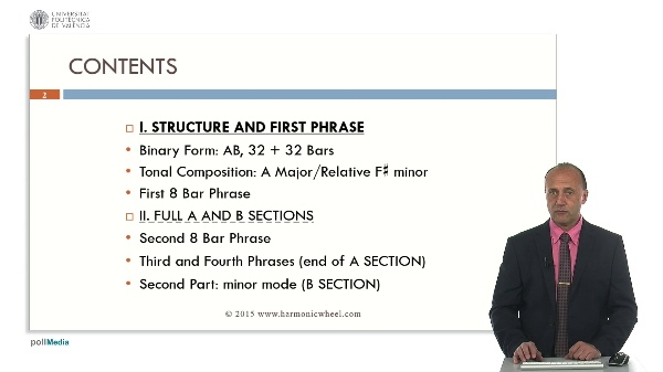 Example on Composition: I. Structure and First Phrase
