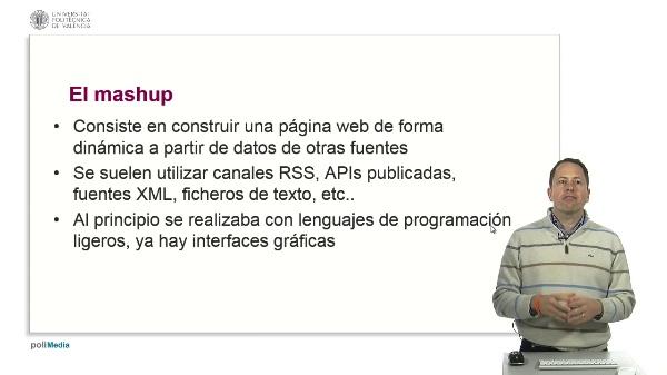 Web 2.0. El mashup