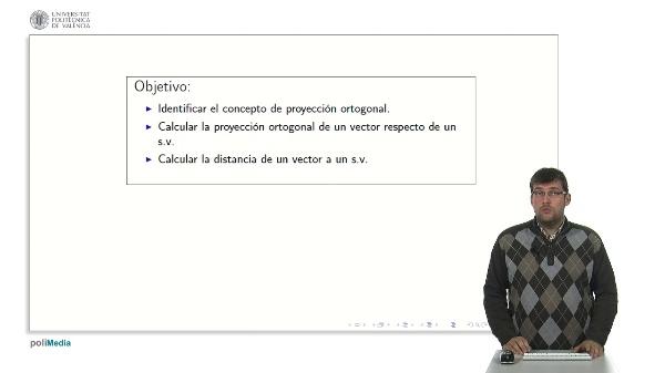 Proyección Ortogonal y Distancias