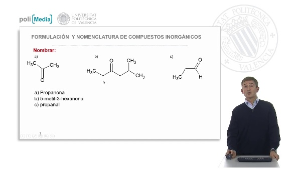 Funciones oxigenadas: aldehídos y cetonas. Ejercicio práctico-soluciones