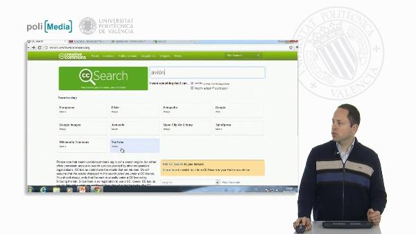 Buscando contenido libre: Vídeo