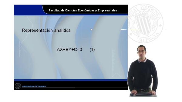 Características generales de las funciones lineales