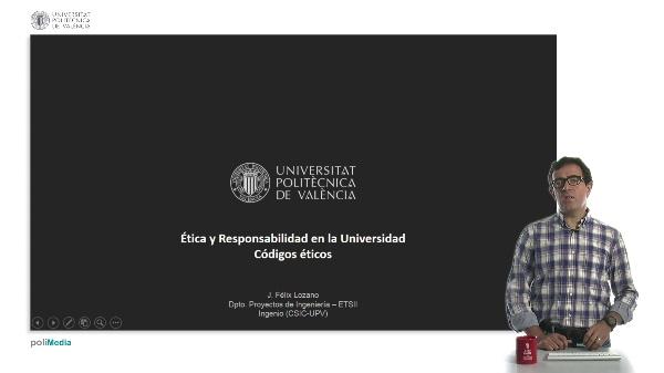 Códigos éticos en la universidad.